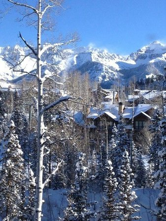 Mountain Lodge Telluride, A Noble House Resort:                   Love the view out of unit 2306 in Prospect Building