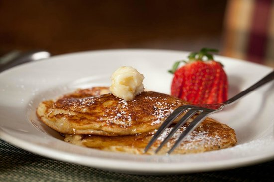 The Inn & Spa at Cedar Falls: Popular Cornmeal Pancakes