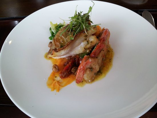 The Galley Restaurant:                   Superb fish at the Galley