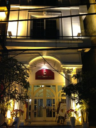 Hanoi Boutique Hotel & Spa:                   hotel