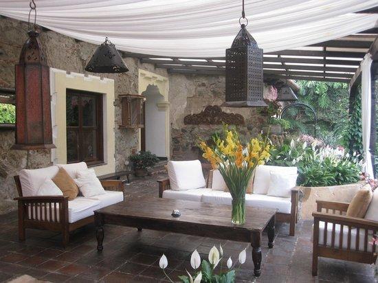 Casa Santa Rosa Hotel Boutique:                   Sitting area