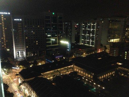 Fairmont Singapore:                   Town view... picturesque!