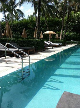 The Setai:                   Pool
