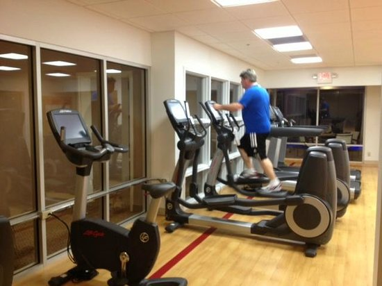 Sheraton Hartford South Hotel :                   This is just 1/4 of the new Fitness Center