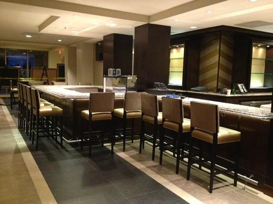 Sheraton Hartford South Hotel :                   New warp around bar with accessible seating front and center (not pictured)