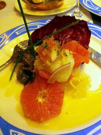 Viridiana:                   Citrics salad