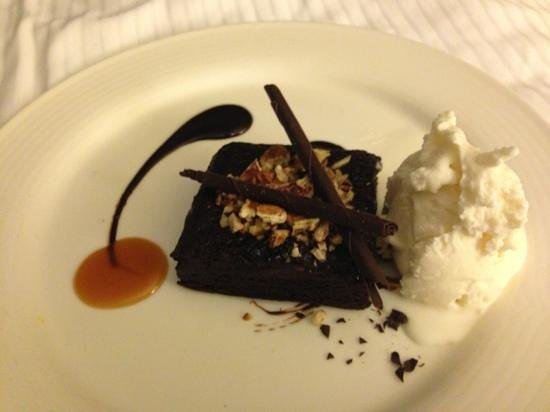 The Westin Harbour Castle:                   brownie from room service good but PRICEY see my review