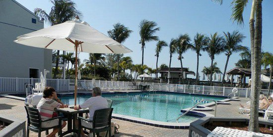 Beachcomber Beach Resort & Hotel:                   large heated pool