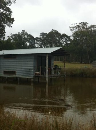 Worrowing Jervis Bay Eco Resort: boat shed