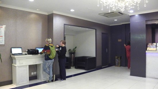 Goodrich Hotel:                   The facility we used for booking and printing out flight tickets