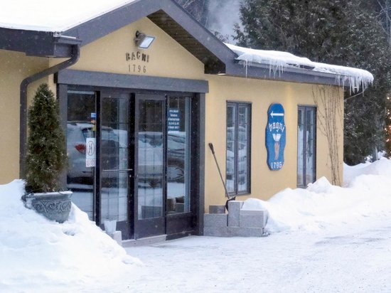 Bagni Spa:                   The front of Spa Bagni