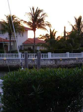 Ocean Reef Yacht Club & Resort:                   Quiet rooms right on the waterway out of the harbor