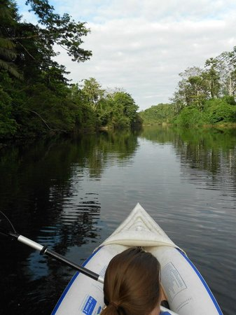 Sleeping Giant Lodge:                   Kayaking at the Sleeping Giant