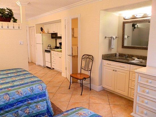 Far Horizons Motel: View of room