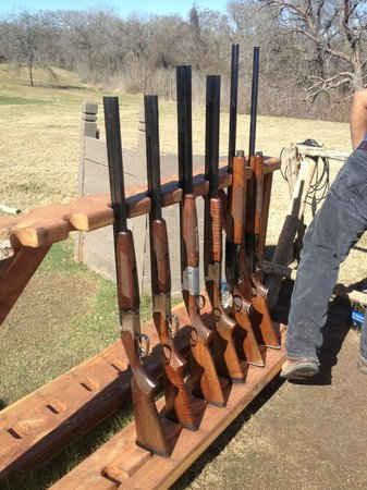 Hyatt Regency Lost Pines Resort & Spa:                   trap shooting shotguns