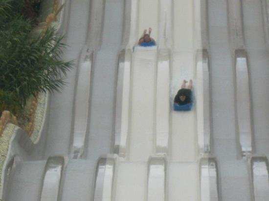 Siam Park: my friend and I