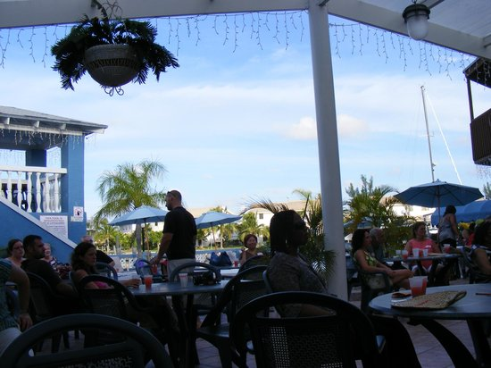 Ocean Reef Yacht Club & Resort:                   Outside patio ambiance