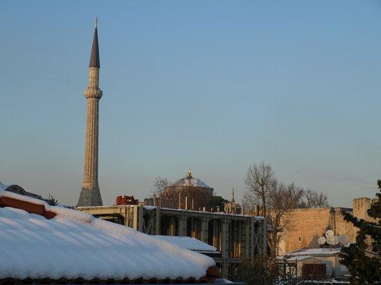 Hotel Empress Zoe:                   rooftops of Sultanahmet
