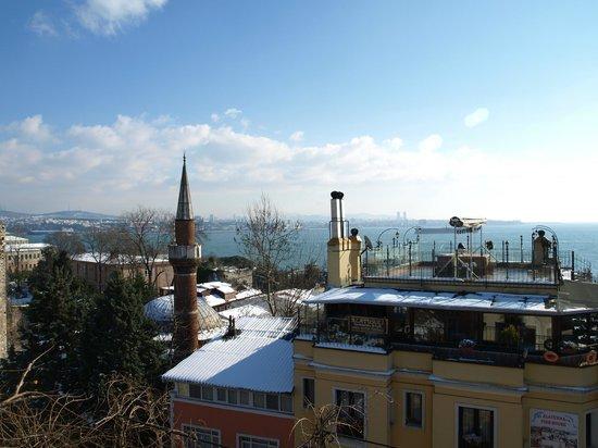 Hotel Empress Zoe:                   Sea of Marmara