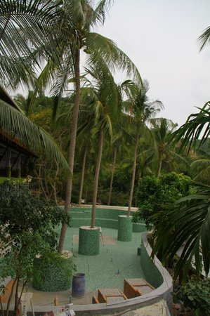 Tanote Villa Hill:                   The new pool