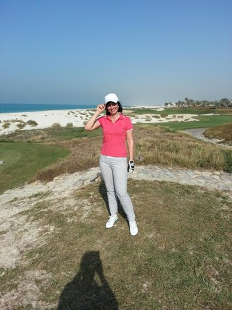 The St. Regis Saadiyat Island Resort:                   Saadiyat Golf Club