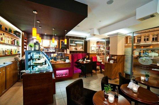 "Best Western Plus Ferdynand Hotel : Coffee Bar ""Best Cafe"""