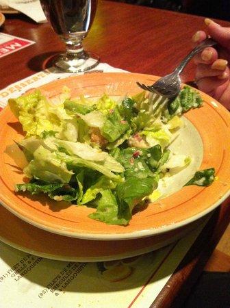 Casa Grecque Lasalle: Salade césard