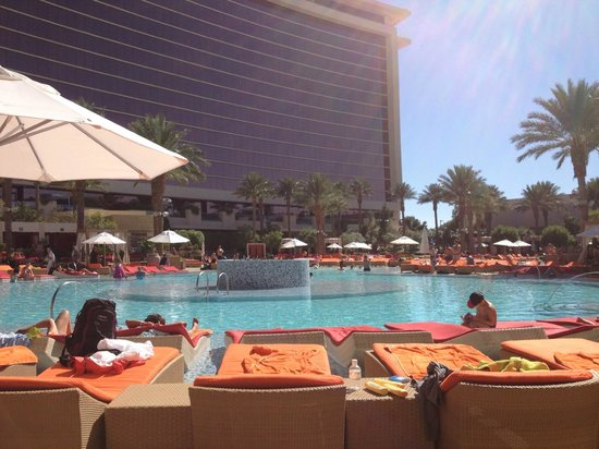 Red Rock Casino Resort & Spa:                   View of the pool