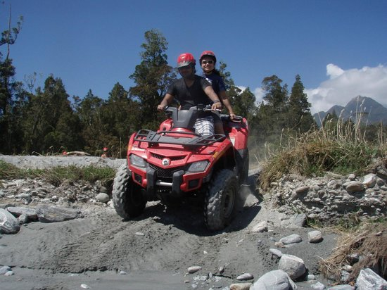 Across Country Quad Bikes:                   up and down again..