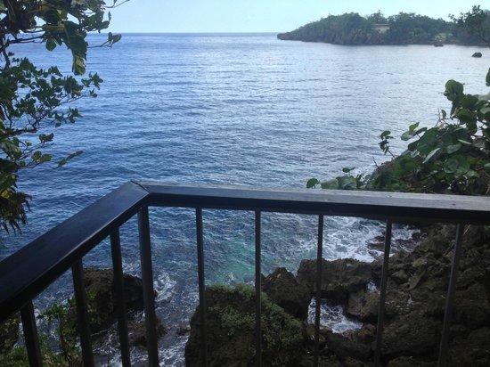 Frenchman's Cove Resort:                   Villa 13 Balcony