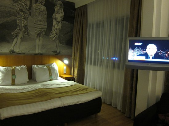 Holiday Inn Helsinki-Vantaa Airport:                   comfortable beds, in typical holiday inn style