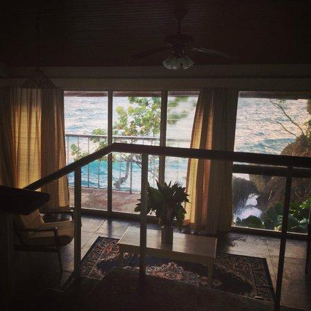 Frenchman's Cove Resort:                   Villa 13 Livingroom