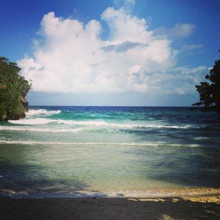 Frenchman's Cove Resort:                   The private beach