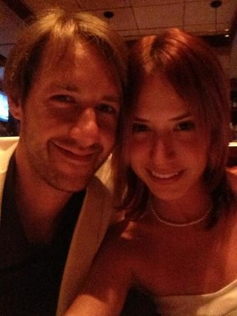 Fleming's Prime Steakhouse & Wine Bar: Katie and I