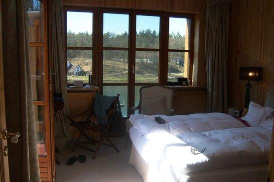 Gut Klostermühle: Zimmer mit Blick auf den Madlitzsee