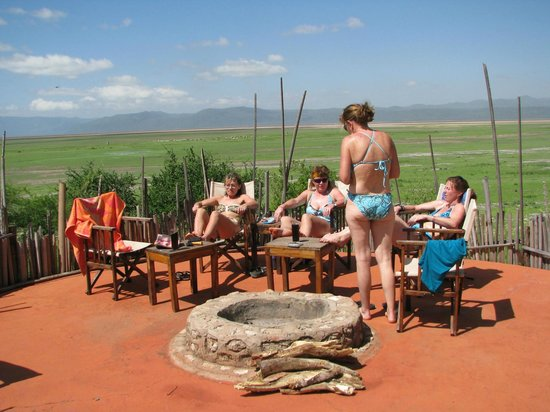Rift Valley Photographic Lodge:                   sitting area