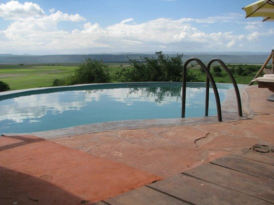 Rift Valley Photographic Lodge:                   pool