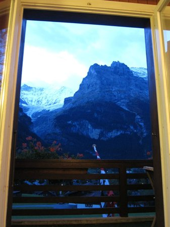 Hotel Kirchbuehl: breathtaking views from the room
