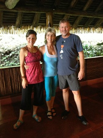Luna Lodge: our amazing host Lana (middle)