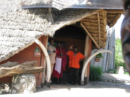 Rift Valley Photographic Lodge:                   waving good bye to our new friends