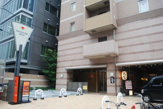 Hotel Mystays Sakaisuji-Honmachi :                   the building