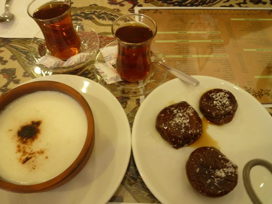 Sofra Restaurant:                   Delightful Turkish desserts for tea