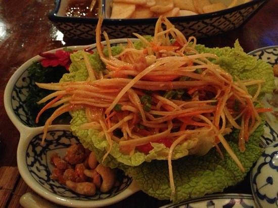 South Holland Province, เนเธอร์แลนด์: spicy mango salad
