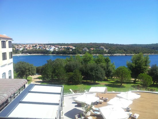 Park Plaza Histria Pula:                   View from room