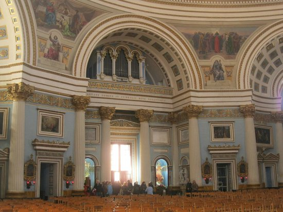 Sunny Coast Resort & Spa:                   Mosta Church