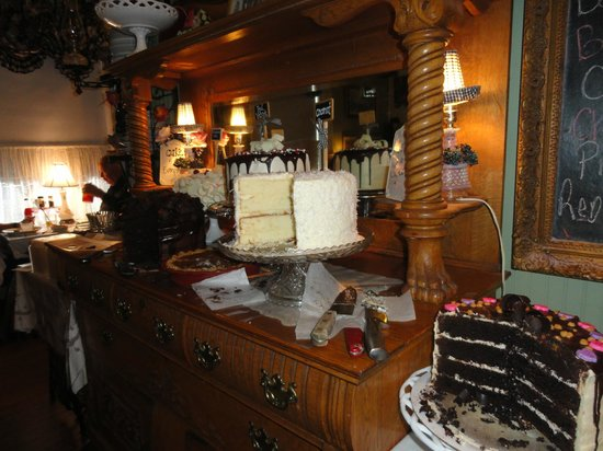 Cotillion Southern Cafe: Some of the many, awesome desserts!