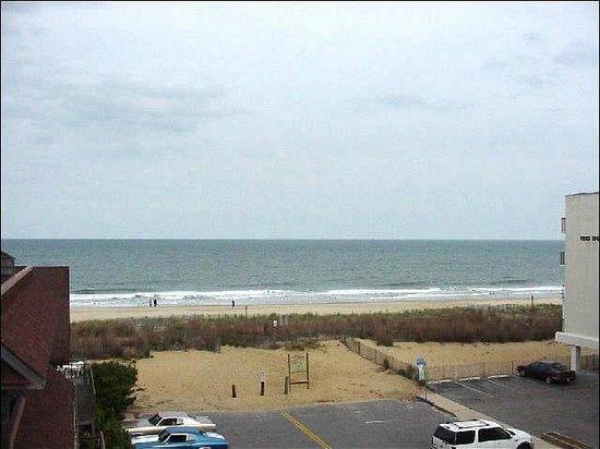 Marylander Hotel Condo :                   Beach View from Balcony
