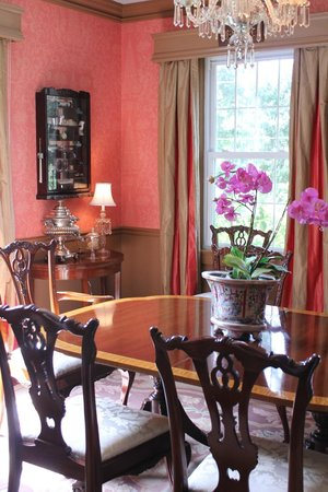 The Manor House:                                     Dinning Room for Breakfast