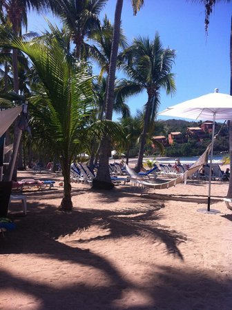 Club Med Ixtapa Pacific:                   This is the beach area to the south, just below the Miramar restaurant.
