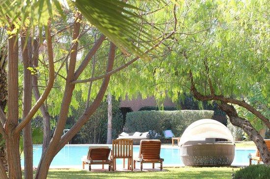 Es Saadi Marrakech Resort - Hotel:                   à l'hombre
